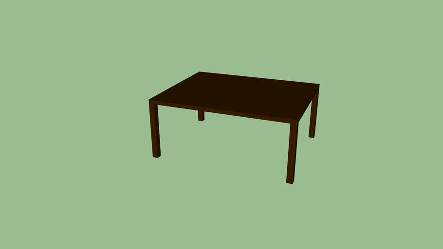 Brown Table / Mesa marron