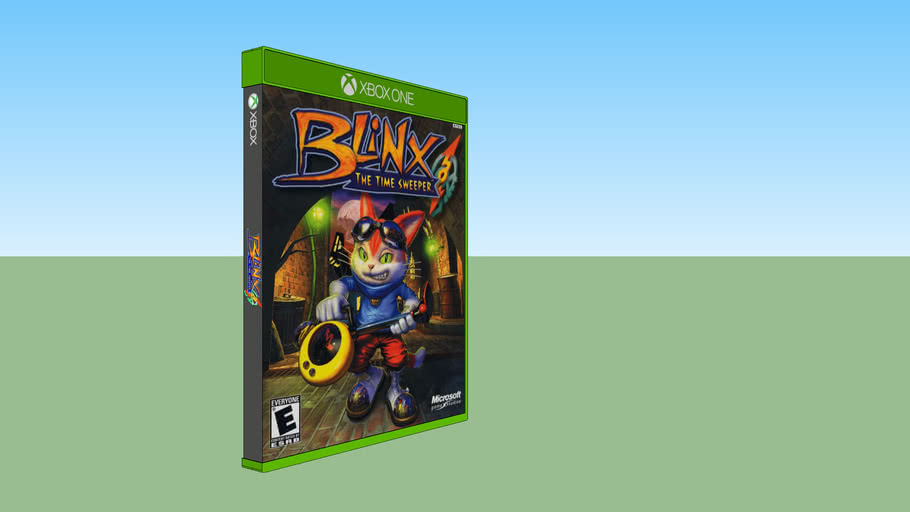 Blinx: The Time Sweeper Xbox compatible with Xbox One game case