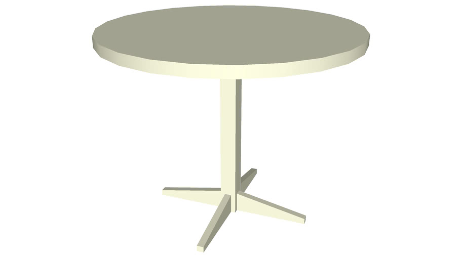Dining table round 36 inches
