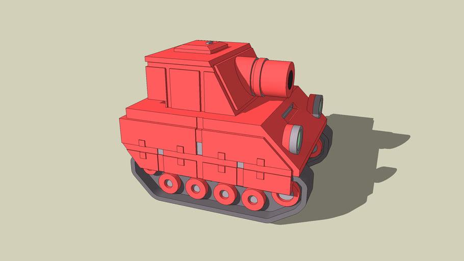 Orange Star Tank