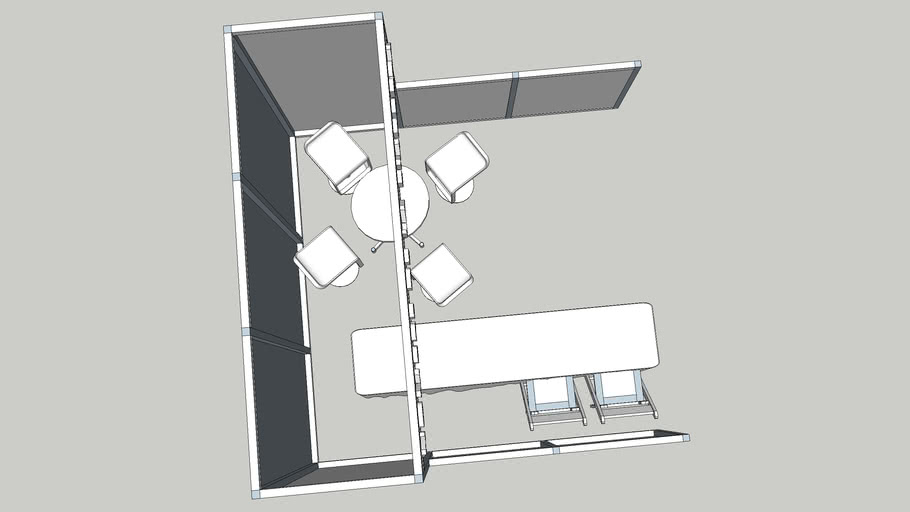 booth mesa izquierda