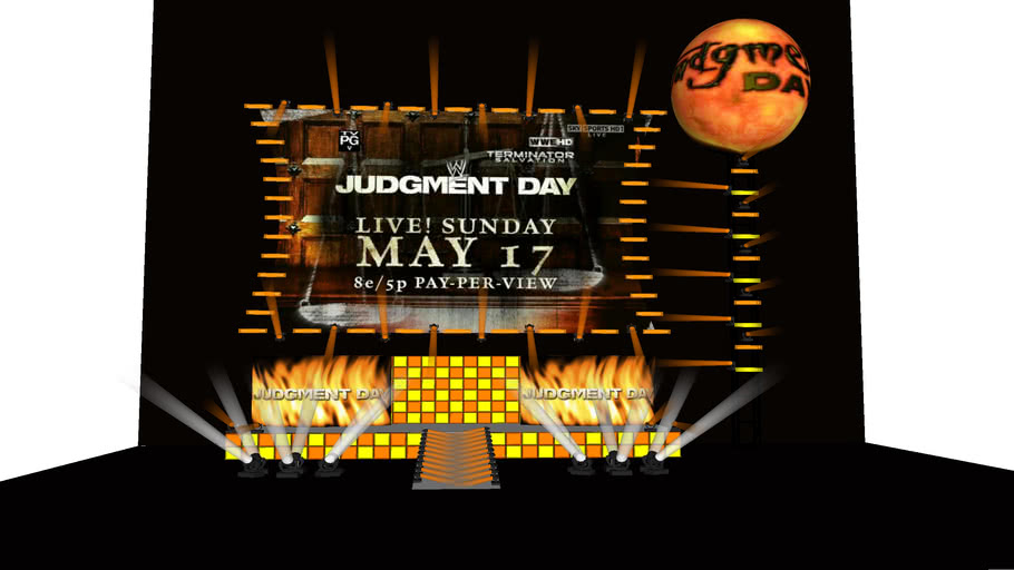 WWE Judgment Day 2009 concept 2