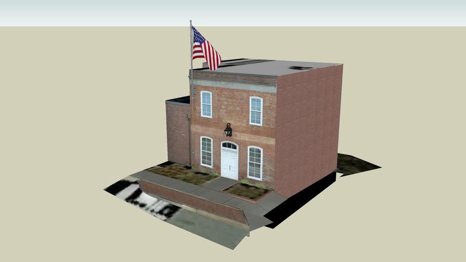 Jefferson Georgia Mainstreet in 3D - Crawford W. Long Museum