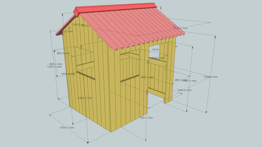 cabane pour enfants / hut for children