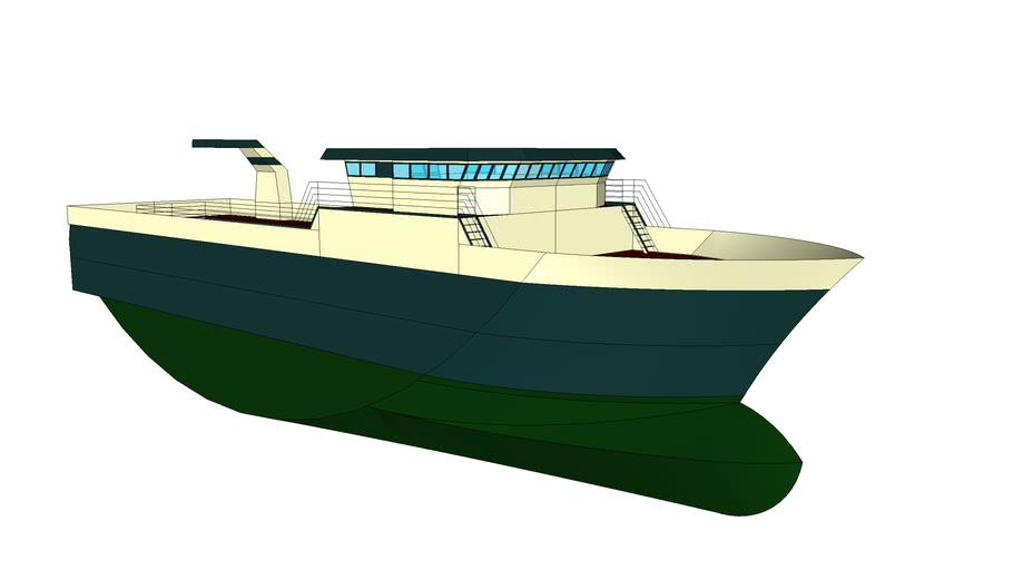 50x12 Trawler (New project)