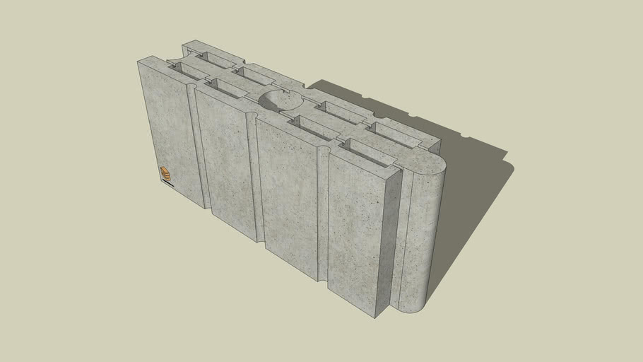 SUPERSTONE | Boltar din beton compartimentare |Partition cinder block