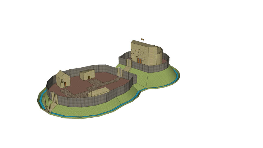 A Motte and Baily castle