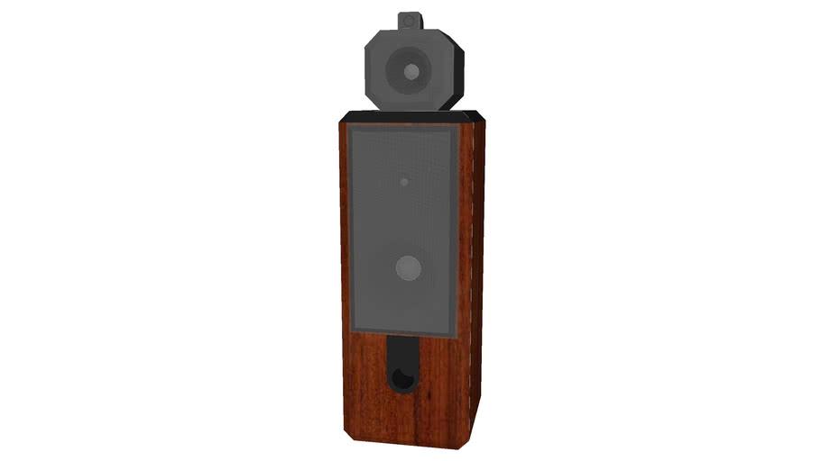Speaker Tall 2 - Detailed