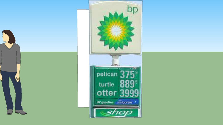 A BP Stupid Sign