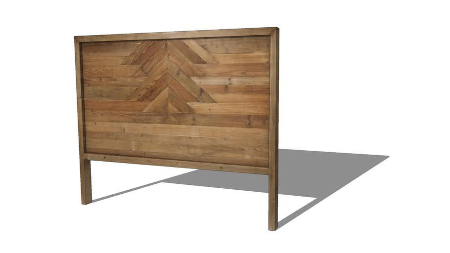 LAKOTA Tête de lit 140 en pin recyclé REF 166049 PRIX 299.00€