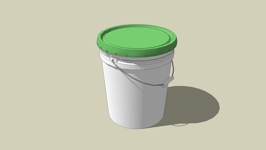 5 Gallon Bucket 3d Warehouse