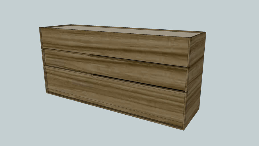 SCAN DESIGN Mojave Walnut Dresser