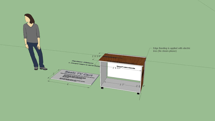 Basic TV Cart Rev.2