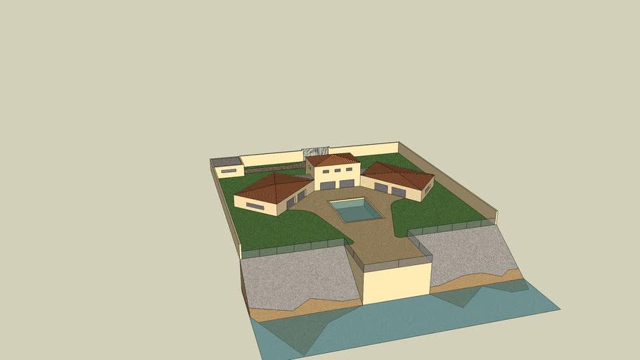 Résidence de villa design