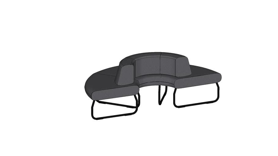 Modular sofa by Bejot - LEGVAN 180 1 IN