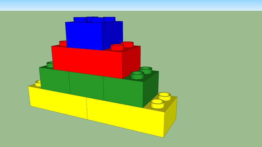 Duplo tower animation