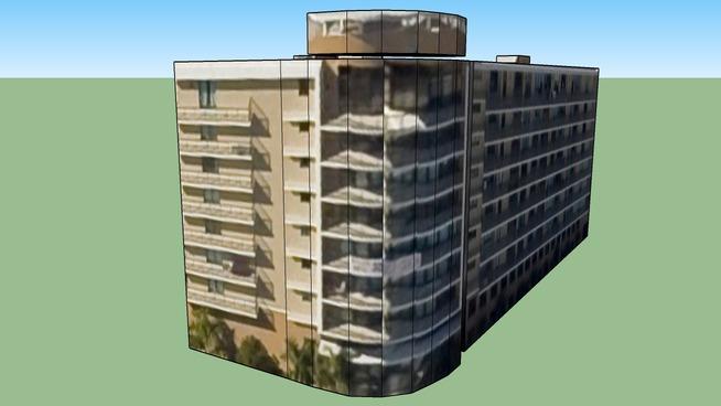 Byggnad på Miami, FL, USA