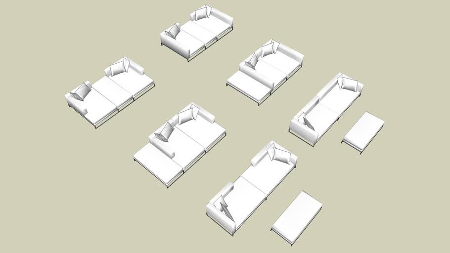 sofas e chaises