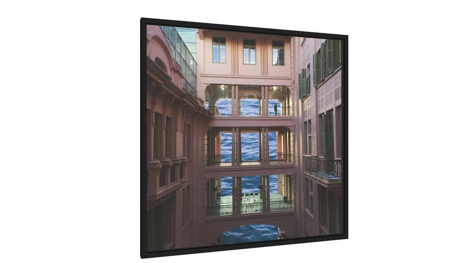 Quadro Solidão - Galeria9, por Gabriel Fragoso