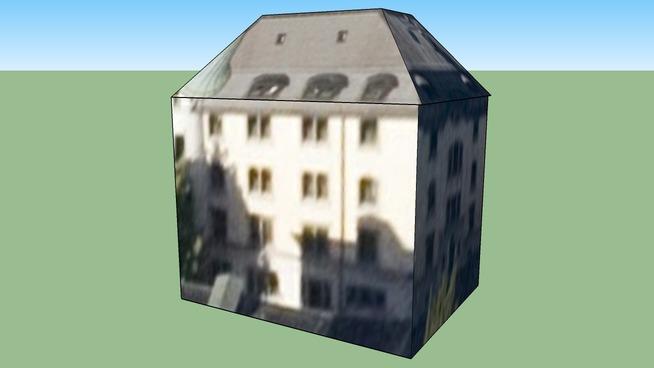 Building in Zurich, Switzerland