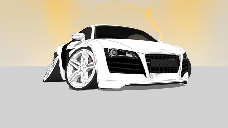 Audi R8 Morphed
