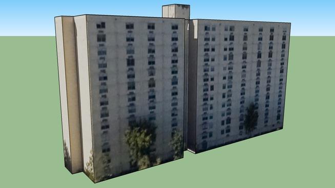 Budynek w: Miami, FL, USA