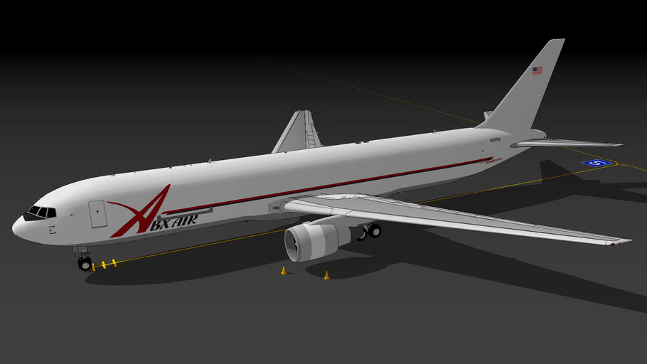 ABX Air 767-338(ER)(BDSF) (2021)