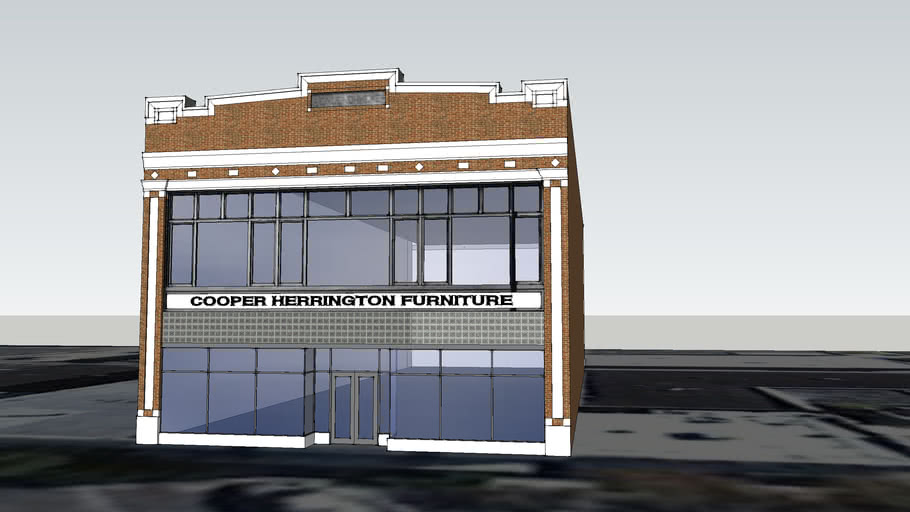 Cooper Herrington Furniture Building - 318 South Dewey Avenue, Bartlesville