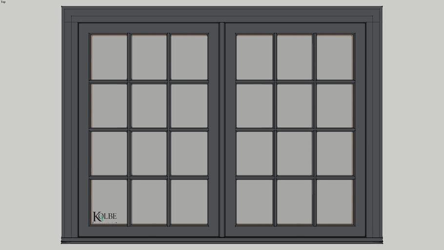 """Kolbe Ultra Casement KUC24 F.S. 5'-4"""" x 4'-0"""" R.O. 5'-4 1/2"""" x 4'-0 1/2"""