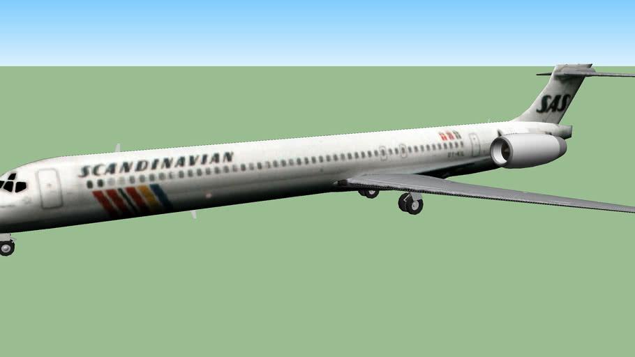 SAS Scandinavian Airlines (1997) - McDonnell Douglas MD-90-30