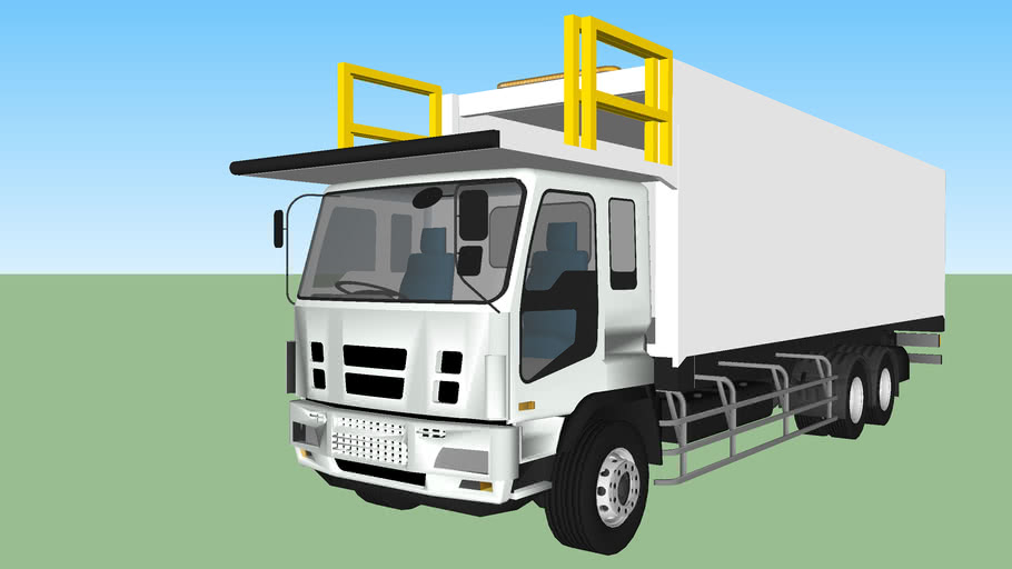 Large Aircraft Catering Truck