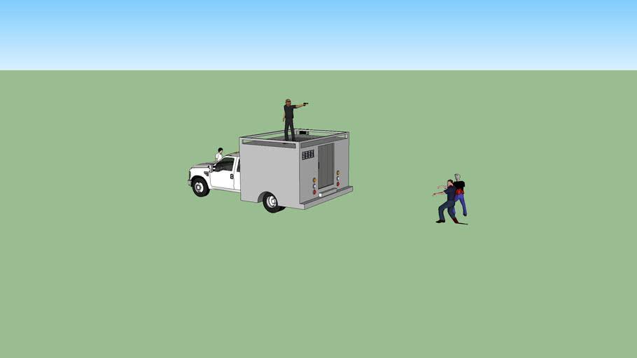 Zombie series (Convoy truck 1)