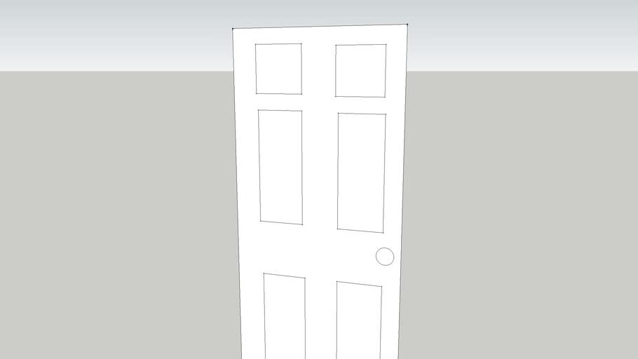 Door into room