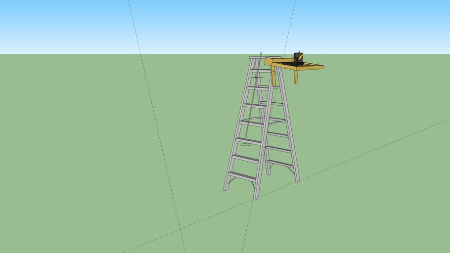 Ladder Pulley System
