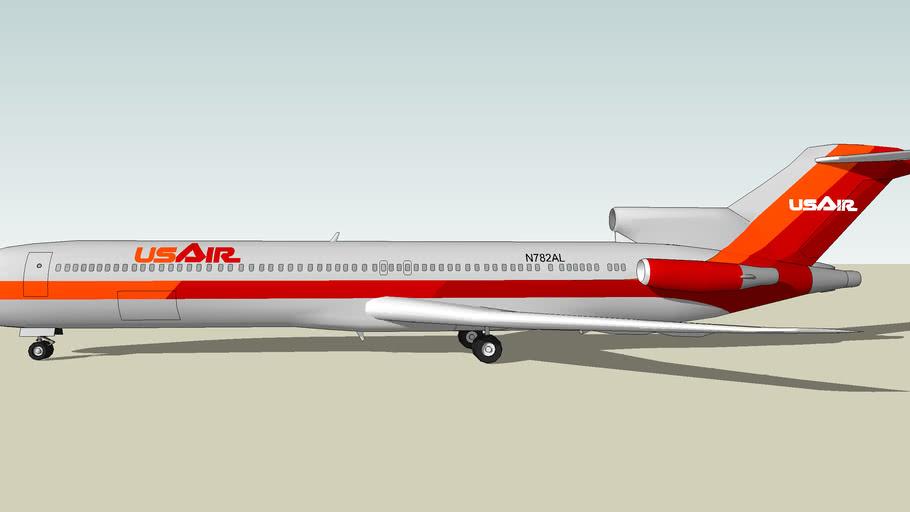 USAir Boeing 727-200