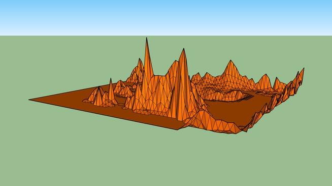 Mars Mountains V.0.0.3