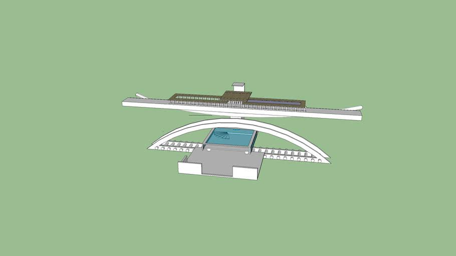 exp3 3D MODEL FOR BRIDGE KIT(Xiaobin HUANG)