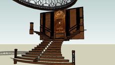 Stairs, railings