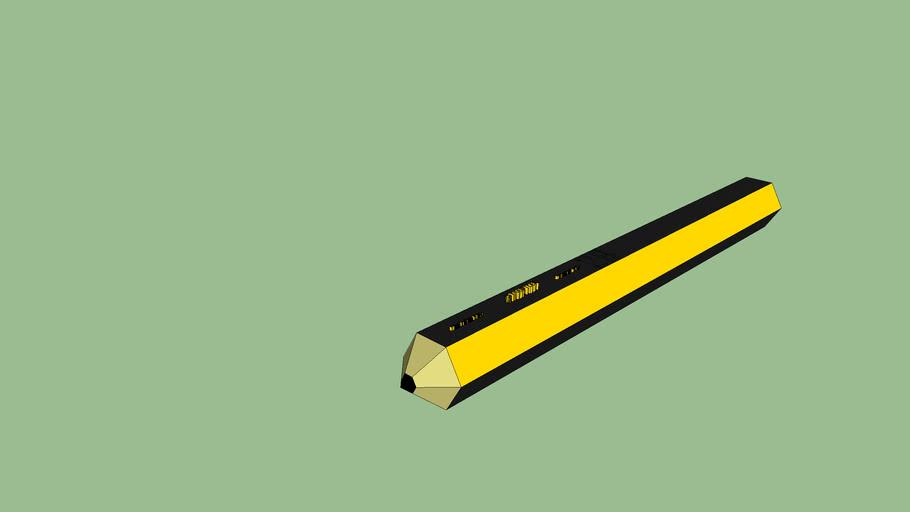 HB school pencil