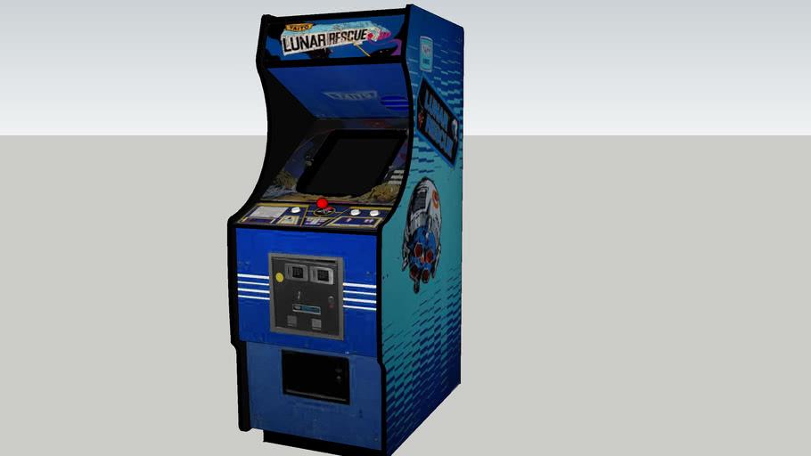 Lunar Rescue arcade game