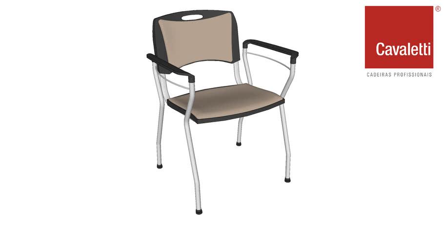 Cadeira Fixa Coletiva 35013 - Cavaletti
