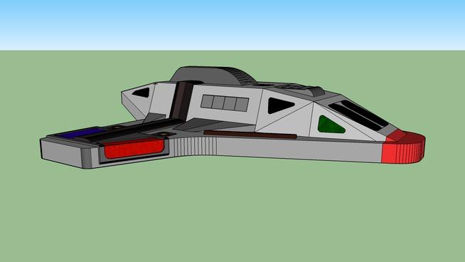 Star Trek Aeroshuttle Type 2