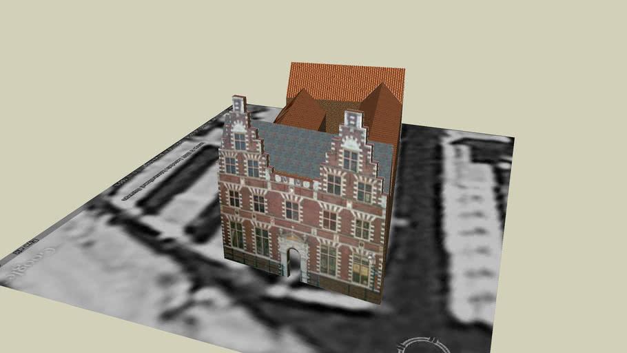Staten logement, VOC building 16 th Century in the center of Hoorn Holland