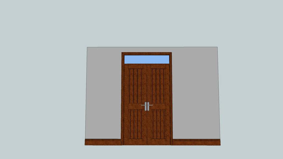 dark wood cupboard