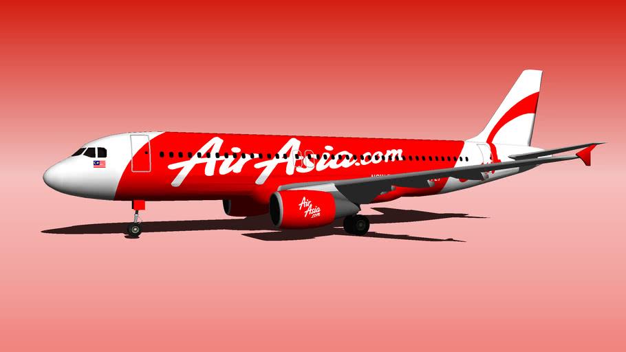 Malaysia AirAsia AK Airbus-A320-200 2
