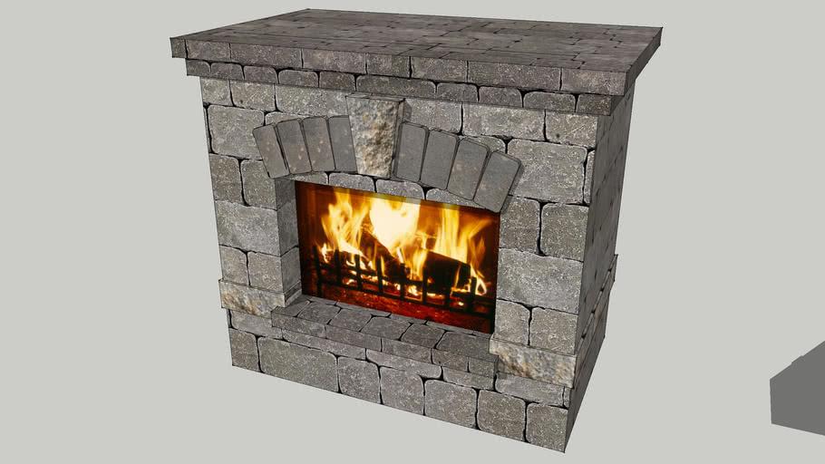 "Bristol Fireplace (36"" - Gas)"