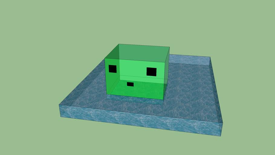 Swimming slime
