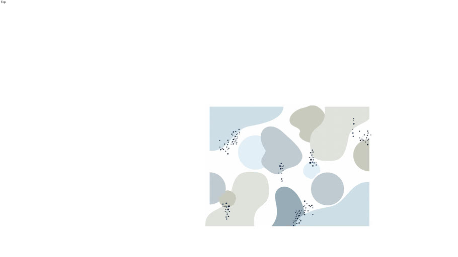 Painel Bloco de Cores Azul