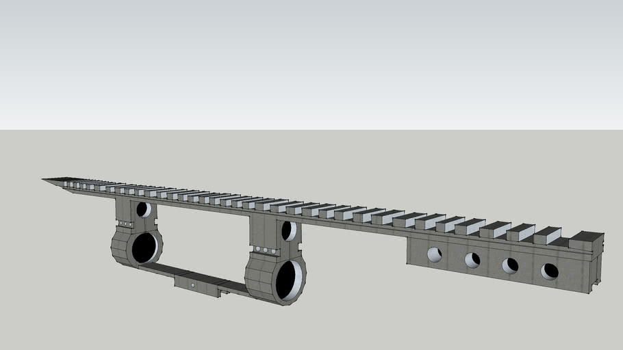 bullpup weaver rail