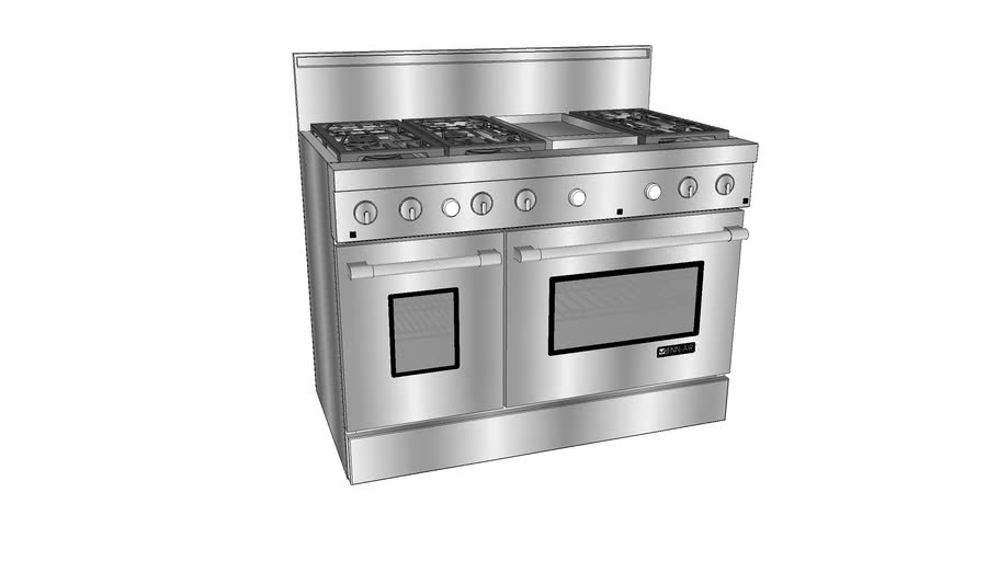 "PRG4810NP 48"" Pro-Style® Gas Range with Convection"